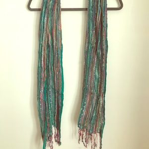 Urban Outfitters Multicolor Scarf